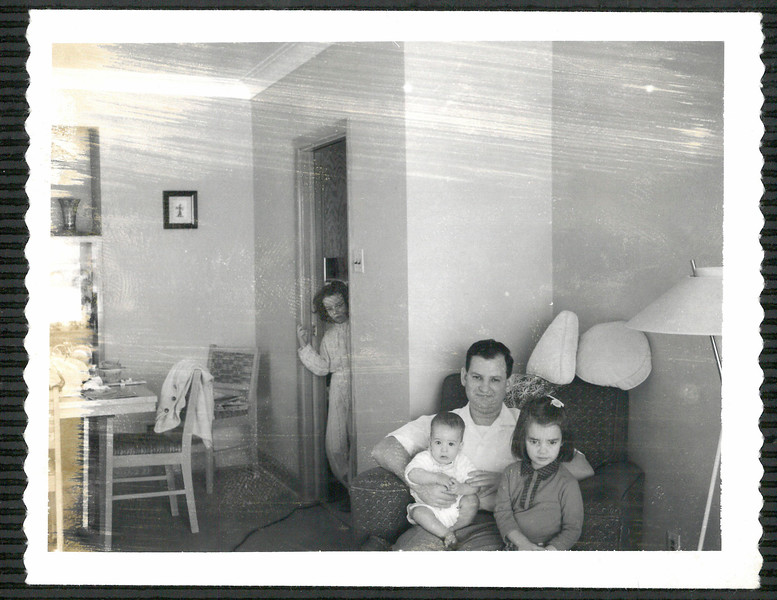 Dad, Diane, Shelley and me