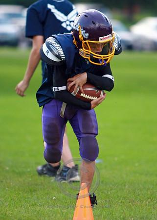 Junior PeeWee Purple Practice 2008