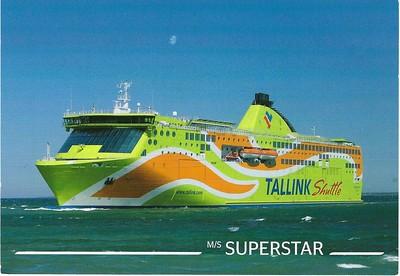 Tallink Postcards