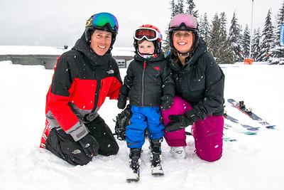 The Momys go Skiing