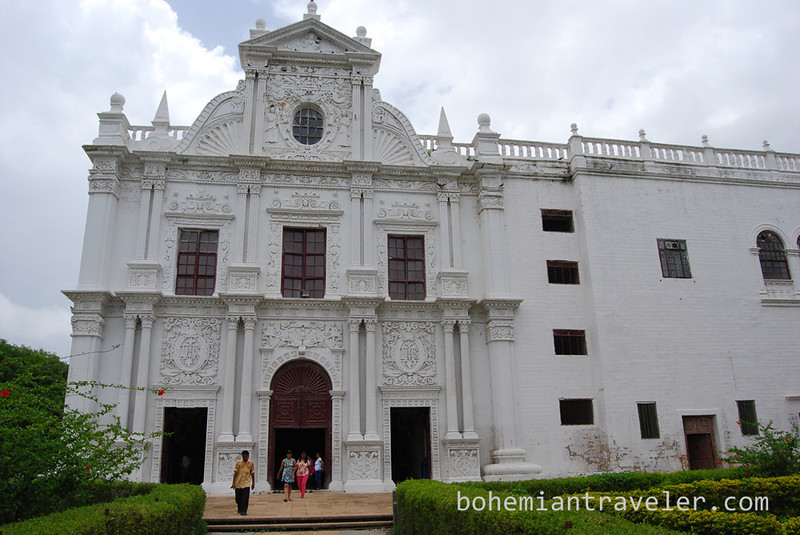 St Paul's Church in Diu.