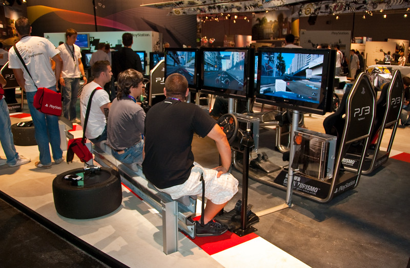 Gran Turismo 5 at GamesCom