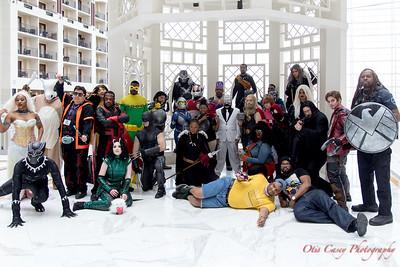 Katsucon 2018 Marvel vs DC