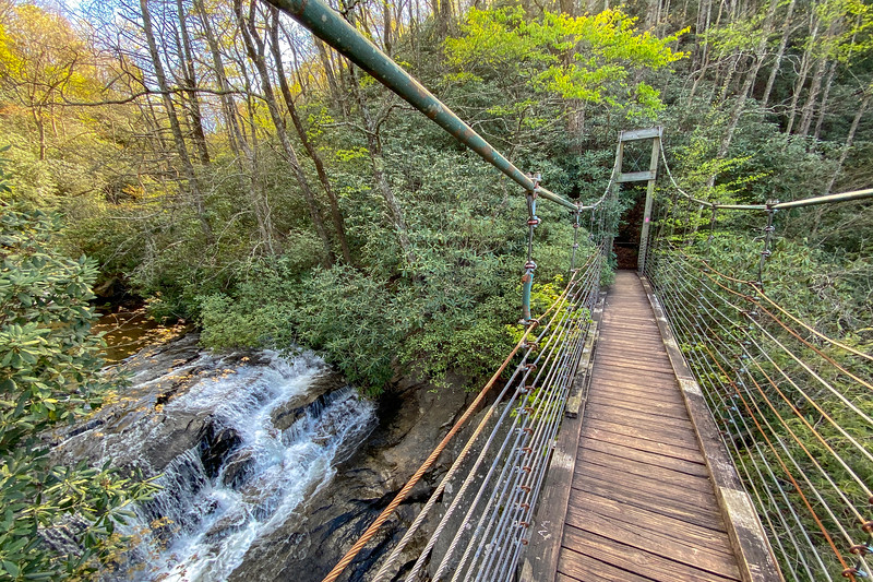 Watson-Cooper Heritage Preserve & Raven Cliff Falls  (5.4 miles; d=6.80)