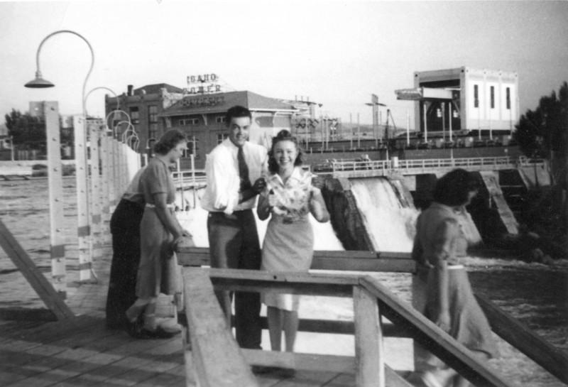 At American Falls Dam