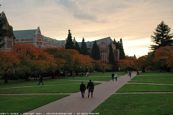 The Quad at the University of Washington