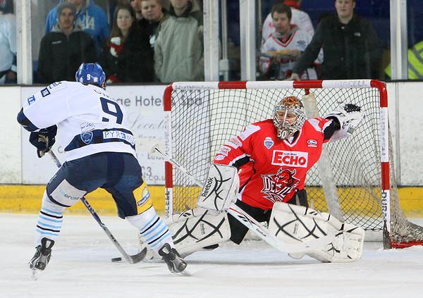 Blaze v Cardiff Devils - 30/01/2011