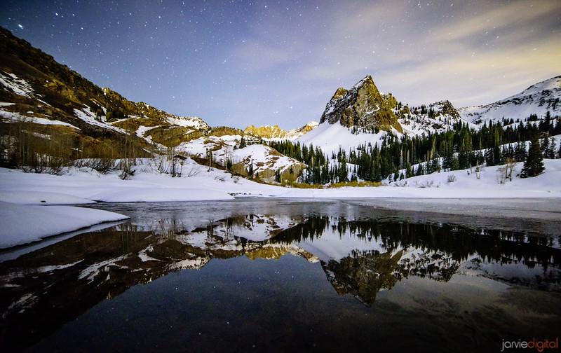 Lake Blanche - Winter