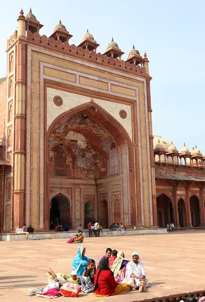 The Jama Masjid Mosque at Fatehpur Sikri
