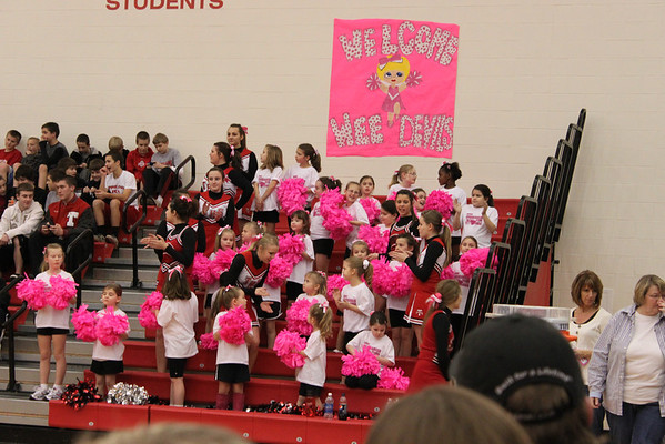 Wee Devils Cheerleaders 2012