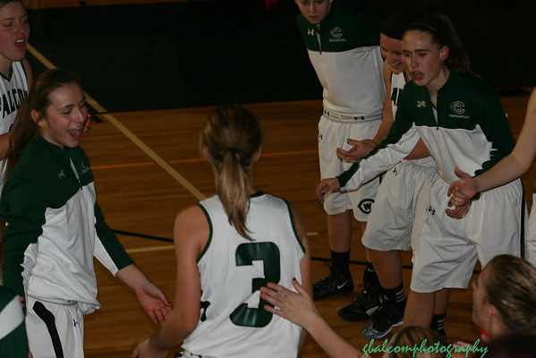 WC Girls Varsity Basketball vs Kenowa