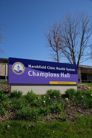 Marshfield Health Clinic Champions Hall April 2019
