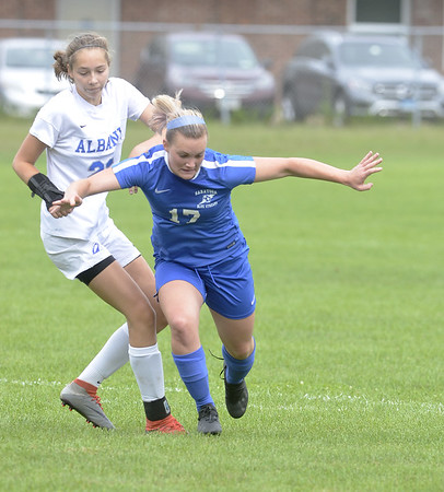 Girls Soccer: Albany at Saratoga Springs - Sept. 8, 2018