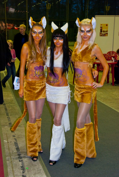 Furry girls at Igromir 2009