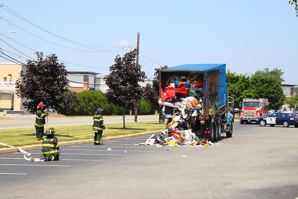 Brockton, MA Truck Fire 6/21/12