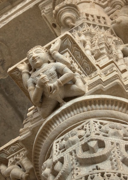 There are over 1,444 pillars in this temple, each meticulously decorated with delicate carvings - Ranakpur Jain Temple