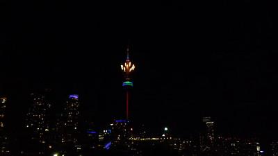 Pan Am Games Toronto - Closing Fireworks Jul26-15