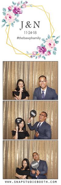 2018-11-24 Nhi & Jimmy's Wedding - Photobooth