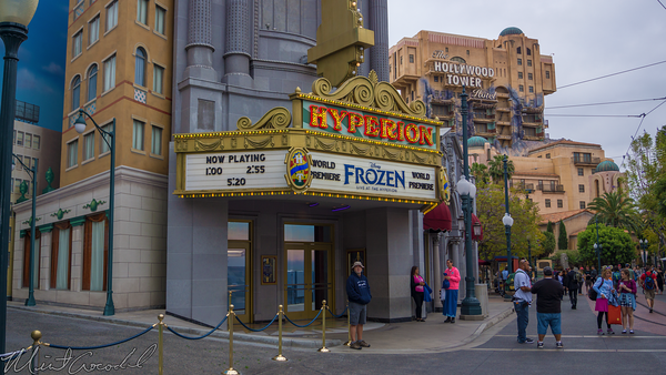 Disneyland Resort, Disney California Adventure, Hollywood Land, Frozen, Hyperion, Theater
