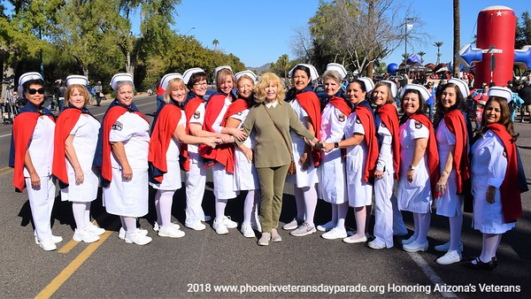 2018 Phoenix Veterans Day Parade - All Entries