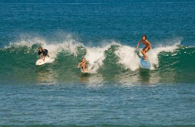 Ali'i Beach, Menehune Surfing Contest, Sunday, Oct. 19th