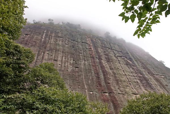 Les falaises de Danxia