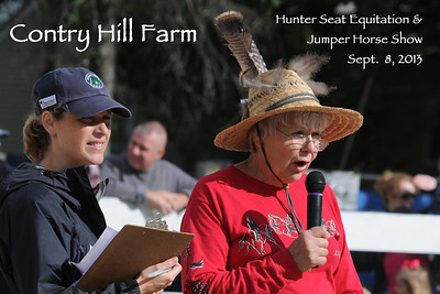 Contry Hill Farm Hunter Seat Equitation and Jumper Horse Show 09-08-2013