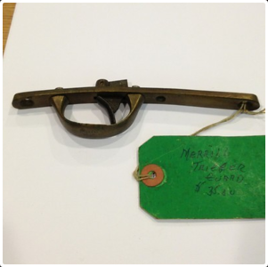 Trigger plate and guard (sold 2012)