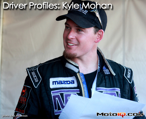 Driver Profiles - Kyle Mohan