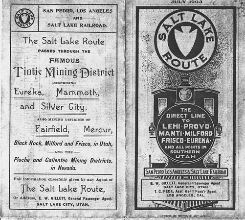 San Pedro 1903 Timetables