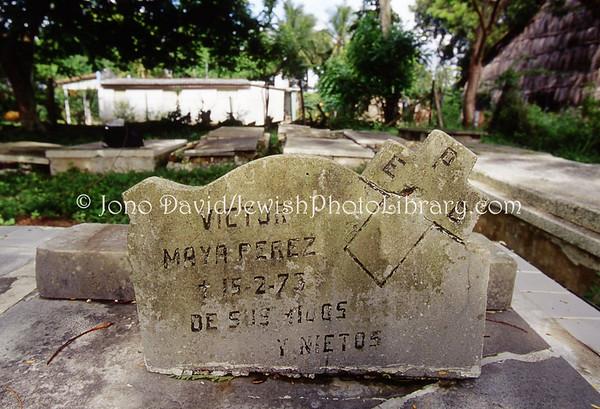 CUBA, Camajuani. Cementerio Israelita. (2008)
