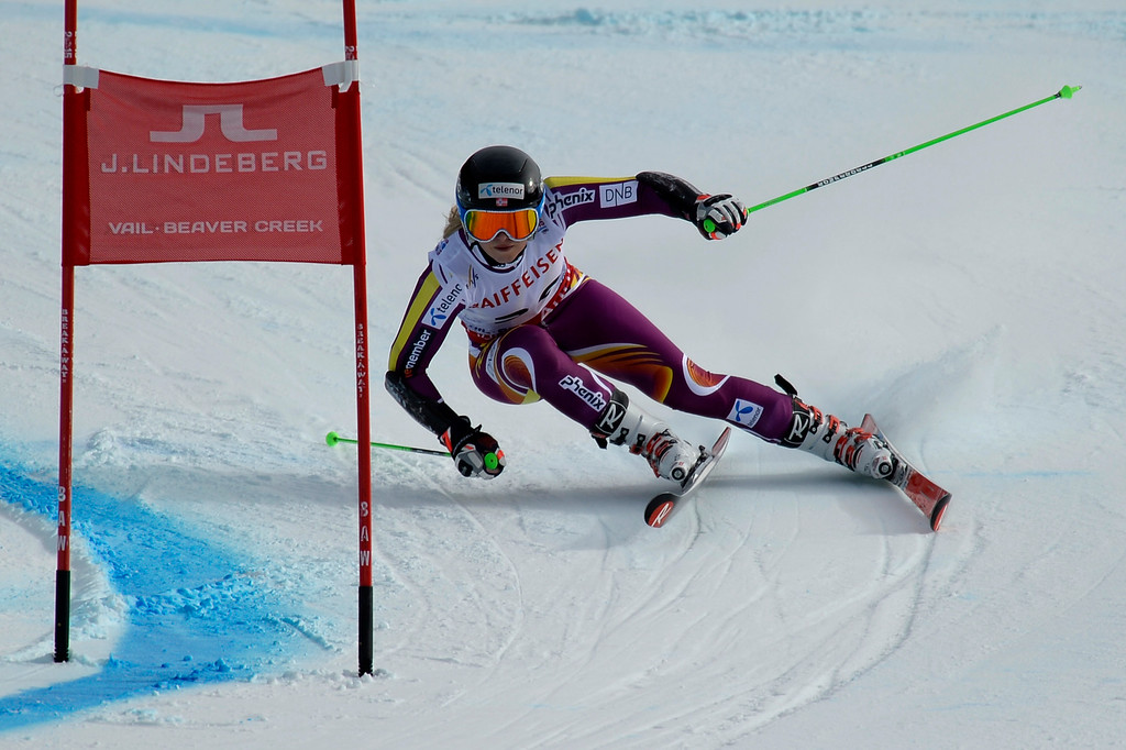 . BEAVER CREEK, CO - FEBRUARY 12: Ragnhild Mowinckel of Norway during the ladies\' giant slalom. FIS Alpine World Ski Championships 2015 on Thursday, February 12, 2015. (Photo by AAron Ontiveroz/The Denver Post)