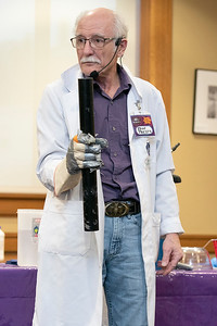 Science at Leominster Public Library, Feb. 18, 2020