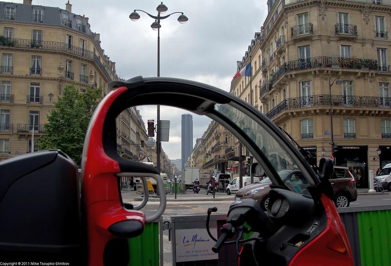 Boulevard Saint-Germain. Paris