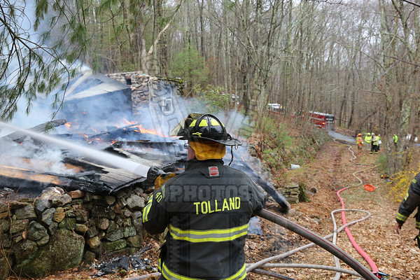 Tolland, Ct 2nd alarm 4/26/17