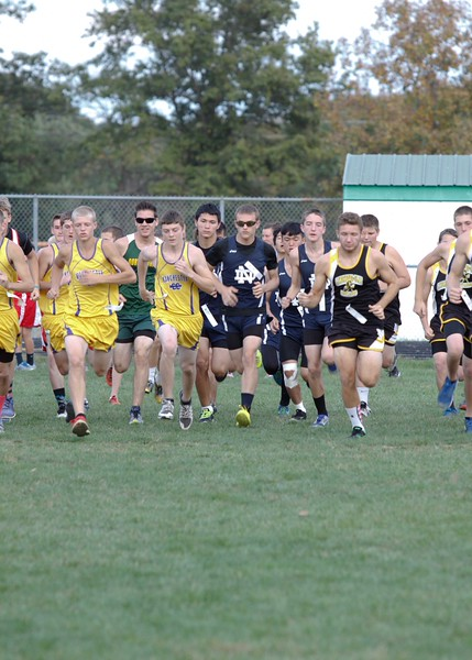Boys Cross Country Meet at West Union