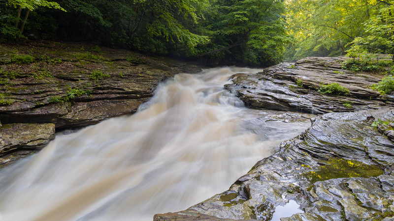 Natural Water Slide Area