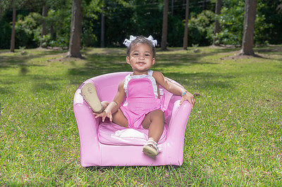 Caylee First Bday Photo