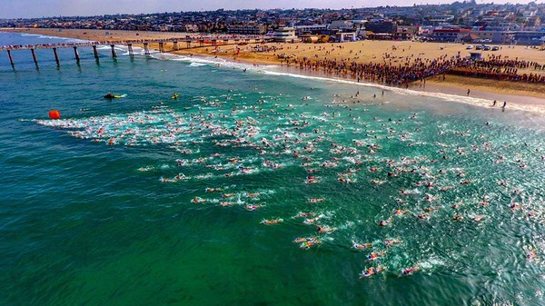 2017 Dwight Crum Pier-to-Pier Swim