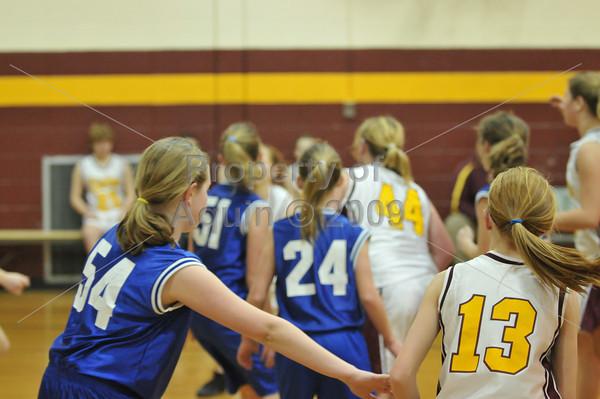 7-8th grade girls bball vs stockton  2.10.11