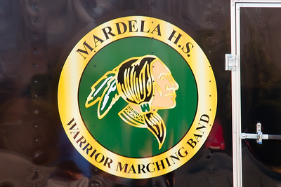 Mardela Marching Band in Christmas Parade