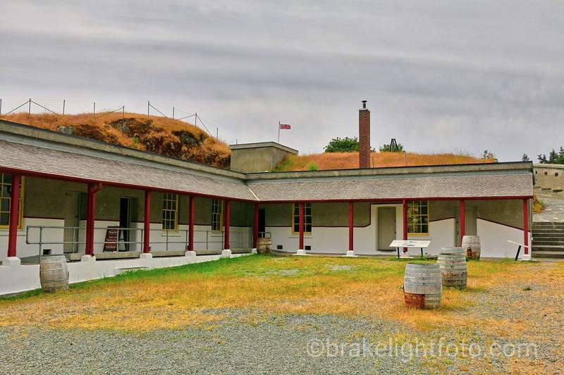 Fisgard Lighthouse Barracks