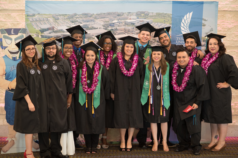 Emotions were high as 579 Islanders received their diplomas during the Summer 2017 Islander Commencement ceremony.