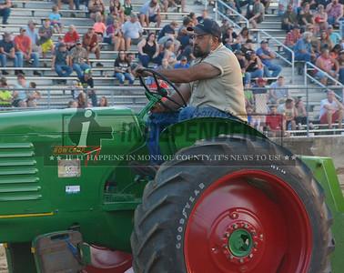 2017 Monroe County Fair - Farmers Class Tractor Pulls