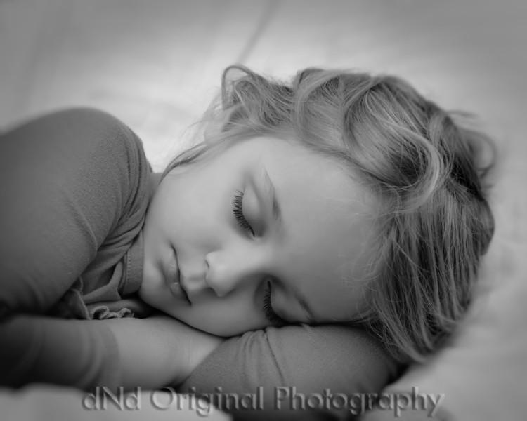 Brielle Sleeping - June 2012 (10x8) b&w.jpg