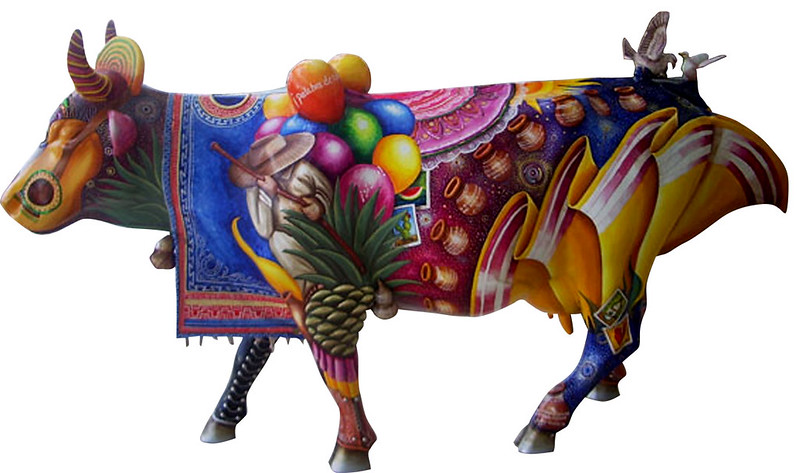 63 Tierra Embriagada de Alegría - Artista Rodrigo Candelas- Sponsor Grupo Lala