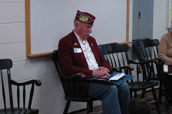 WW II Visit with Mr. Hoff