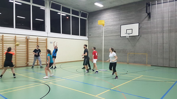 First ever training in Basel Feb 2019