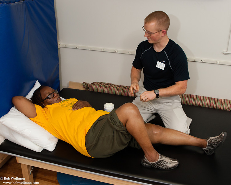 Chester Community Physical Therapy Clinic - Fall 2013