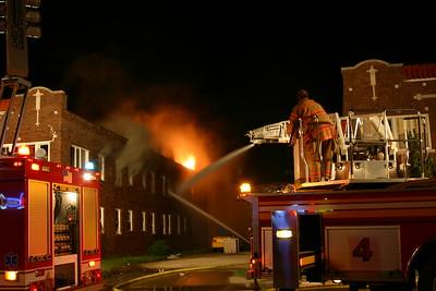 3 Alarm Building Fire 512 E. Central (7/31/06)